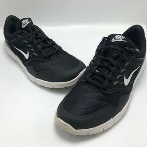 Nike Trainers Womans Black Lace Up Running Sneaker